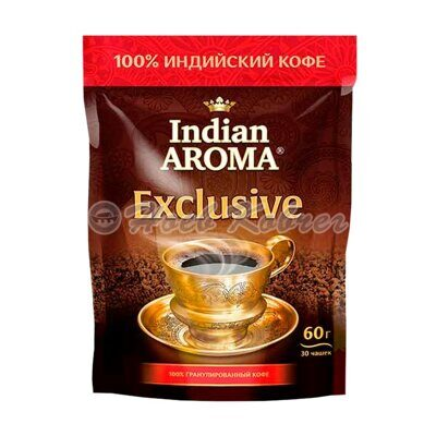 Кофе Indian Aroma Exclusive 60г д/пак