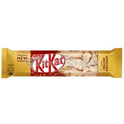 Шоколад  Kit Kat Senses Taste of Deluxe Coconut белый 40гр.