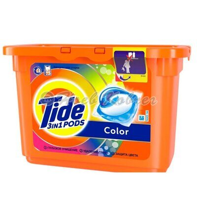 Ср-во моющее Tide Color капсулы 15*24,8г
